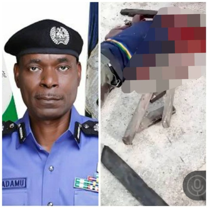 #EndSARS PROTEST: IGP Adamu Reacts To Death Of Policeman As Protest Turns Violent