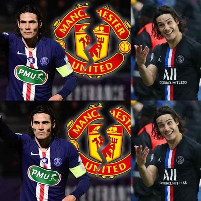 #EPL: Edinson Cavani And Manchester United In Talks Over Transfer Deal