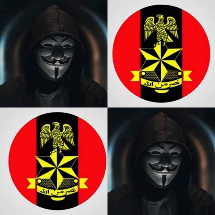#EndSARS: Nigerian Army (NA) Website Allegedly Hacked By #anonymous