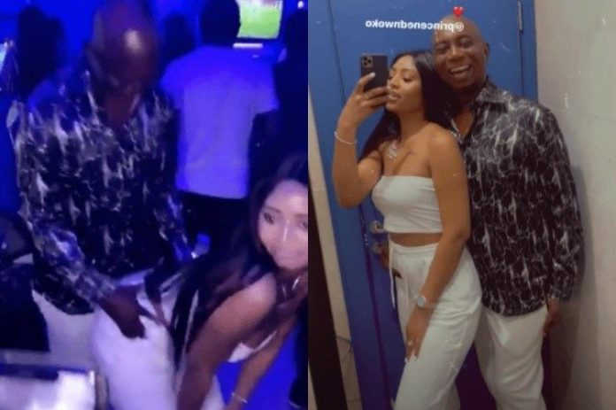 Watch As Regina Daniels Twerks For Her Billionaire Husband Ned Nwoko As They Hit The Club [VIDEOS]