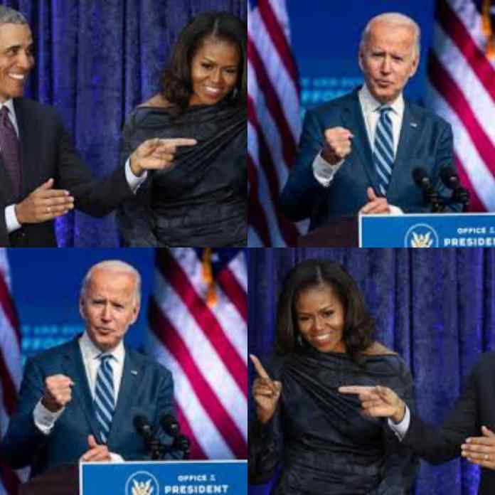REVEALED: Why Michelle Will Leave Me If I Accept A Place In Biden's Cabinet -Barack Obama