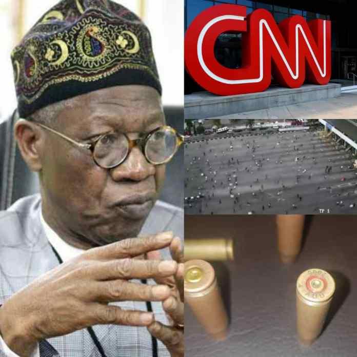 #LekkiMassacre: Lai Mohammed Reacts To CNN's Second Report On Lekki Shootings
