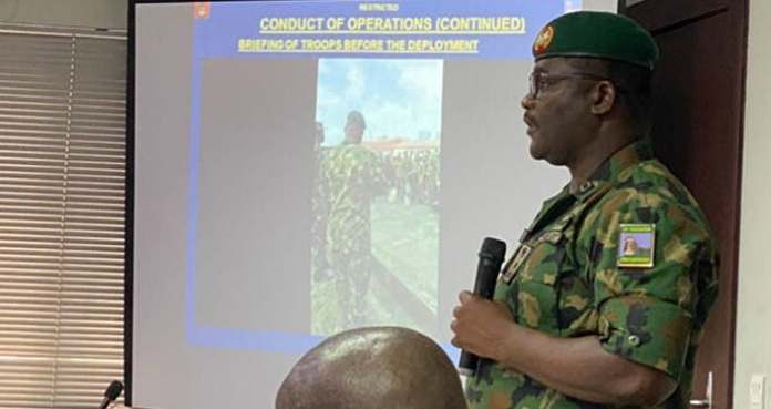 #LekkiMassacre: Why Gen Bello Ordered Soldiers To Release Bullets At Lekki Toll Gate – Army Reveals