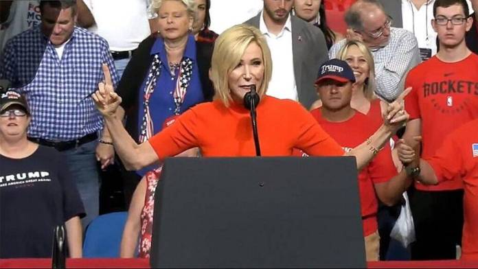 VIDEO: Hilarious Comments Trail Paula White Vision Of Angels From Africa Coming To Secure Trump's Reelection