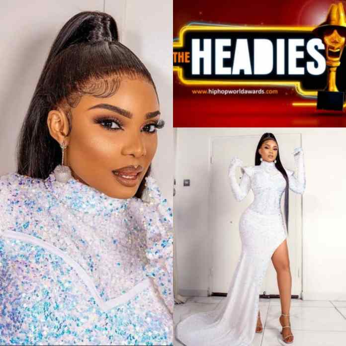 Actress Iyabo Ojo Wins Best Dressed And Hair Do At #14thHeadies