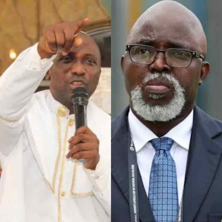 FIFA COUNCIL: Primate Ayodele Organize 3 Days Prayers For Amaju Pinnick's FIFA Ambition