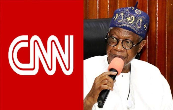 #EndSARS PROTEST: Again, Lai Mohammed Rebuke CNN Over #LekkiShootings