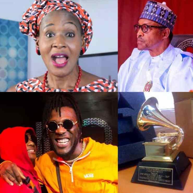 Dont Allow President Touch Your #GRAMMYs Awards - Kemi Olunloyo Tells Wiz Kid And Burna Boy
