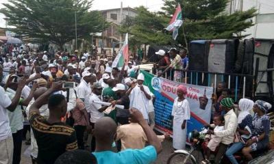 BREAKING: Yoruba Nation Protesters Shut Down Osogbo - #YorubaNationRally