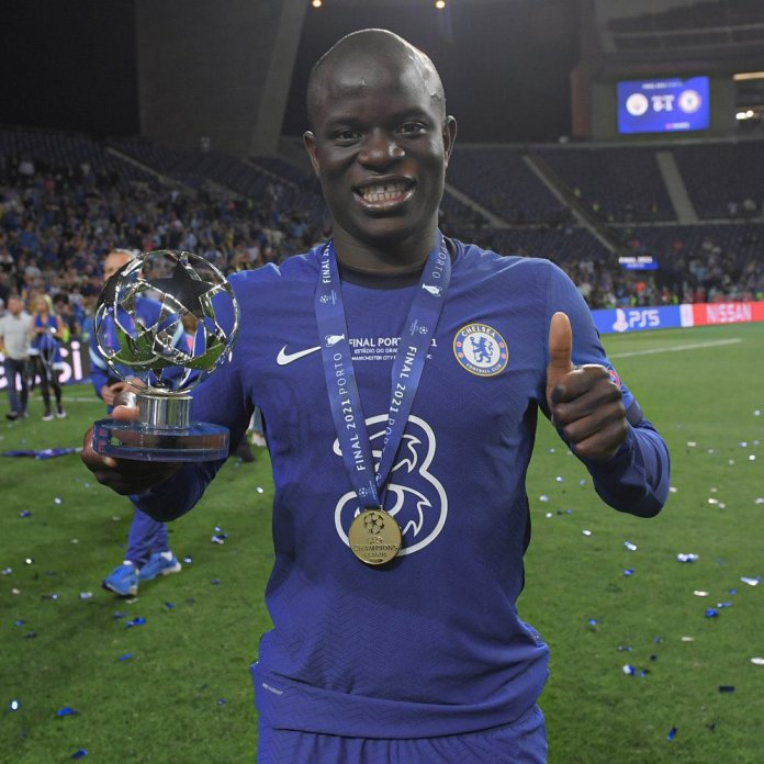 BREAKING: Kante Named Man Of The Match As Chelsea Defeat Mancity In #UCLfinal