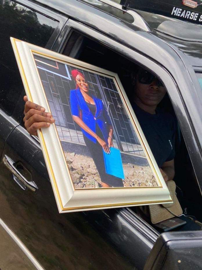 BREAKING: Tears Flows As Remains Of Ini Umoren Laid To Rest [PHOTOS]