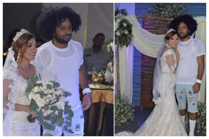 VIRAL VIDEO: Social Media Agog As Groom Rocks T-shirt And Ripped Jeans For His White Wedding