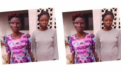 Meet 80-Year Old Grandma And Grand-Daughter Arrested By NDLEA With 192KG Cocaine