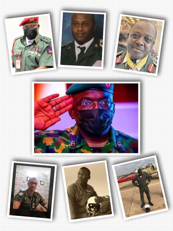 COAS PLANE CRASH: See Full List Of Victims Who Died With Lt Gen Ibrahim Attahiru