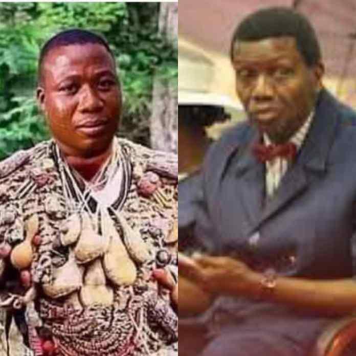 DARE ADEBOYE: Watch As Sunday Igboho Ridiculed Pastor Adeboye After Son's Death