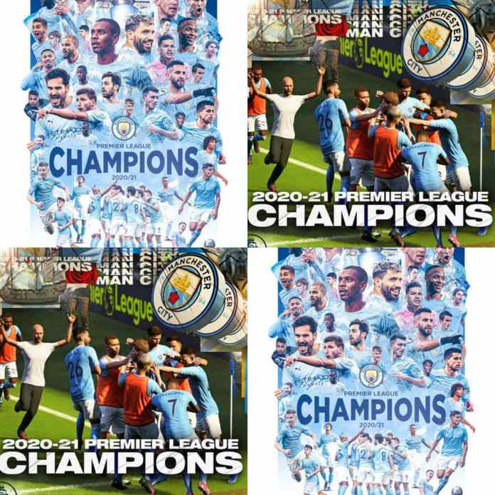 BREAKING: #ManCity Wins Third #EPL Title In Five Seasons....Man United Utd Lose To Leicester