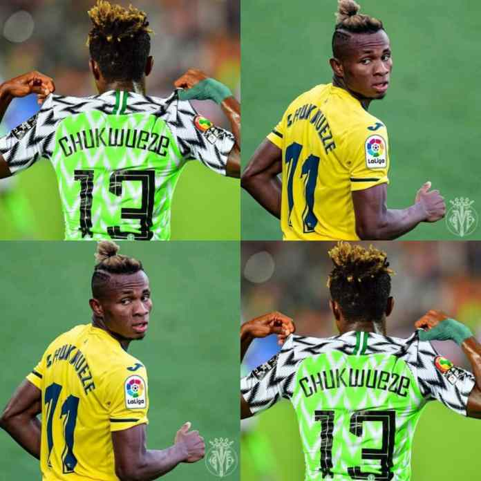 Chukwueze Trends As Nigerians Throw Weight Behind Super Eagles Star Vs Man United - #UELfinal