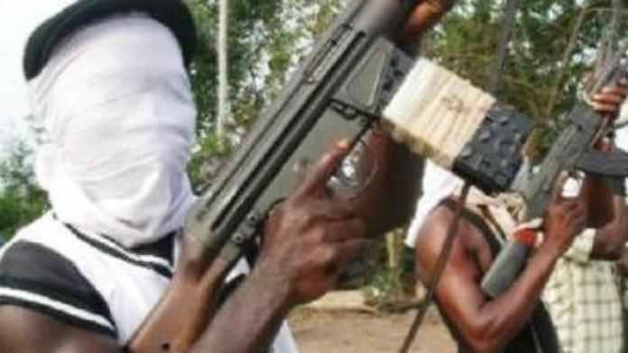 BREAKING: Panic As Gunmen Allegedly Attack Police Station In Anambra, Set INEC Office Ablaze