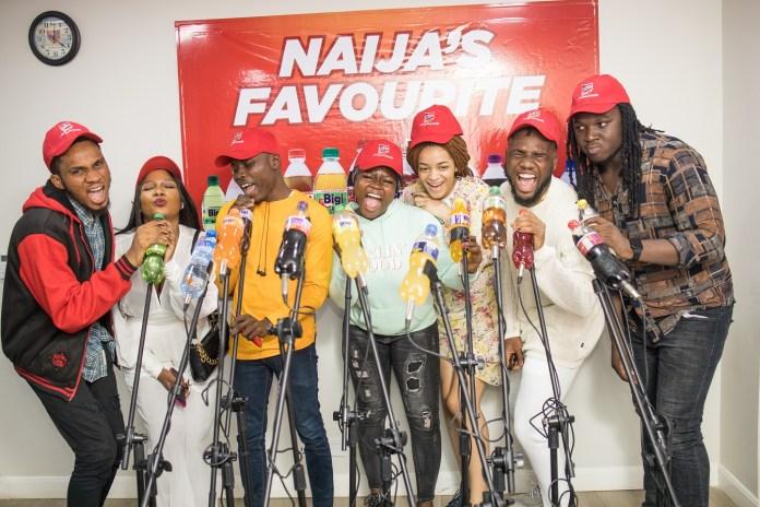 #NigerianIdol: Top 7 Contestants Visit Bigi Drinks, Reveal Favourite Variants