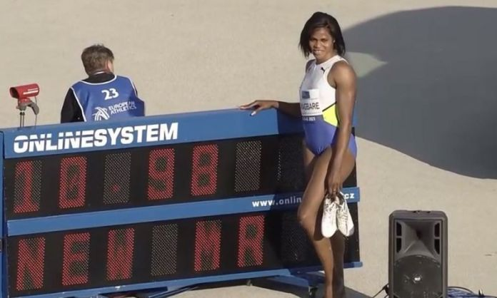 JUST IN: Blessing Okagbare Sets New 100m Meet Record In Slovakia