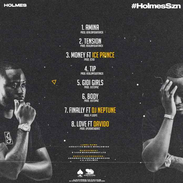 Sensation Artiste, Holmes Is Set To Drop His First Body Of Work