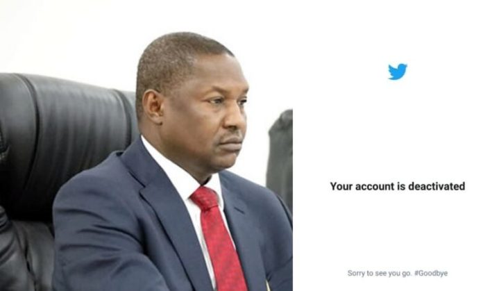 BREAKING: AGF Malami Violates #TwitterBan?, Nigerian Reacts
