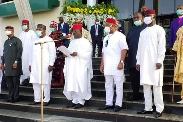 BREAKING: South East Governors Disown Mazi Nnamdi Kanu And IPOB