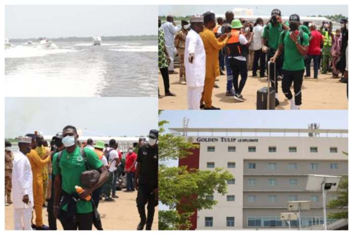 LAGFERRY: Super Eagles To Travel By Boat To Cameroon For #2021AFCON