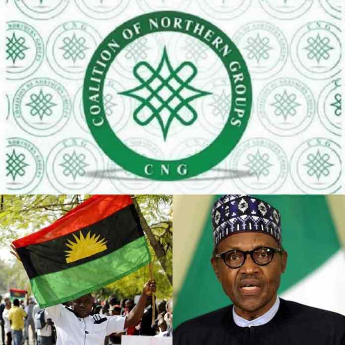 """Let Igbos Have #Biafraland"" – Northern Coalition Tells President Buhari"