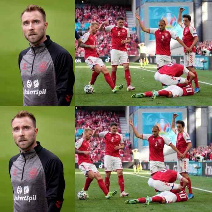 Sad News As Christian Eriksen May Never Play Football Again