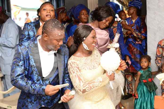 Primate Ayodele, IWA, NAOSRE President, Top-notch Journalists Storm Ogun As NEWSEXTRA Publisher Ties The Knot With Sweetheart