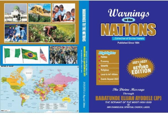 Governors, Business Tycoons, Security Agencies To Receive 27th Edition Of Primate Ayodele's 'Warnings To The Nations'