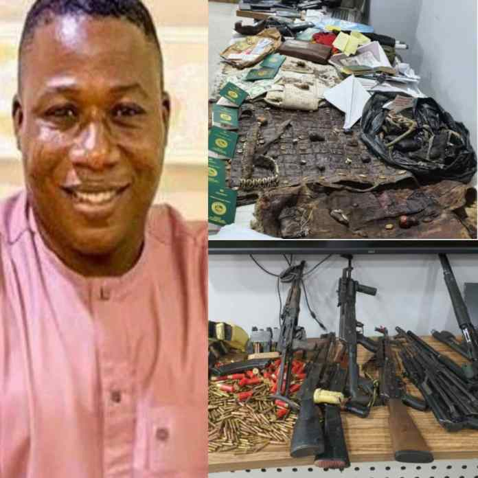 #YorubaNation: DSS Arrests Big Cat Suspected To Be #SundayIgboho