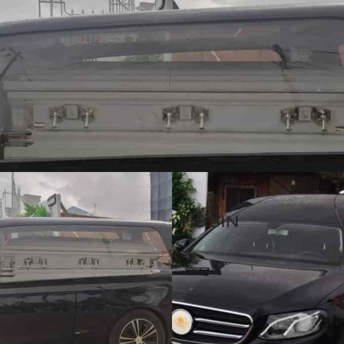 BREAKING: Prophet TB Joshua's Body Arrives Synagogue Church For Lying-In-State [PHOTOS]