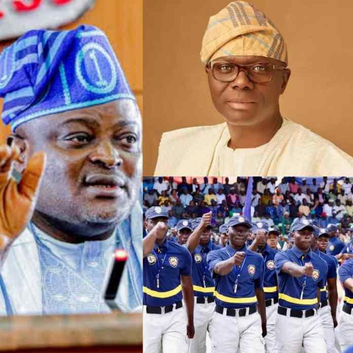 Lagos Assembly Tells Sanwo-Olu To Equip Neighbourhood Watch Officers