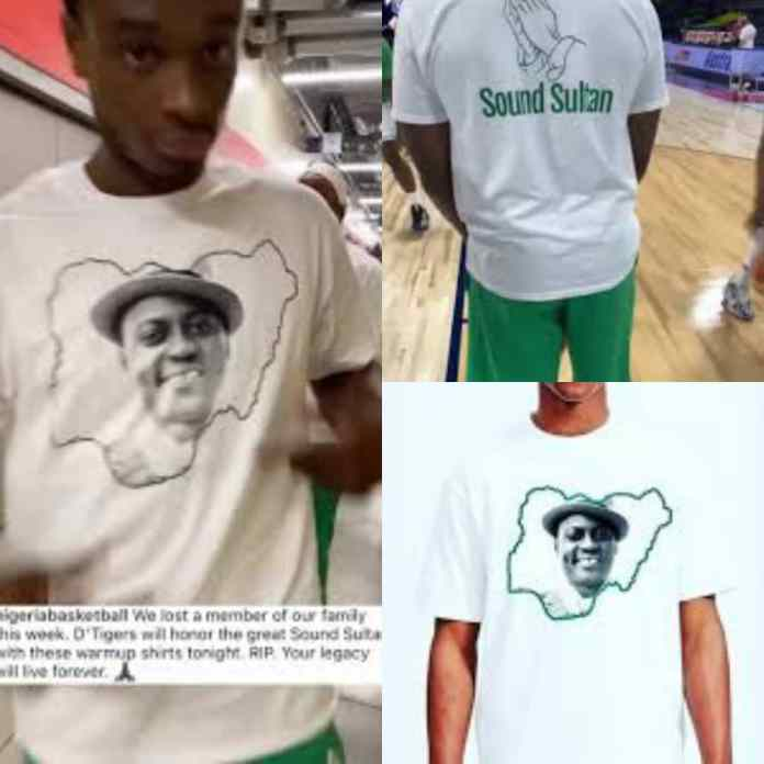 PHOTOS/VIDEO: D'Tigers Pay Tribute To Sound Sultan With Branded T-shirts