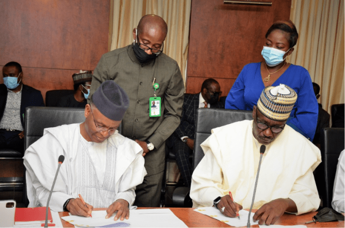 JUST IN: NNPC And Kaduna State Govt Sign MoU On Gas Utilisation, Expansion