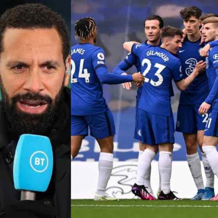 Ex-ManUtd, Rio Ferdinand Says Chelsea Will Win 2021/2022 EPL Title