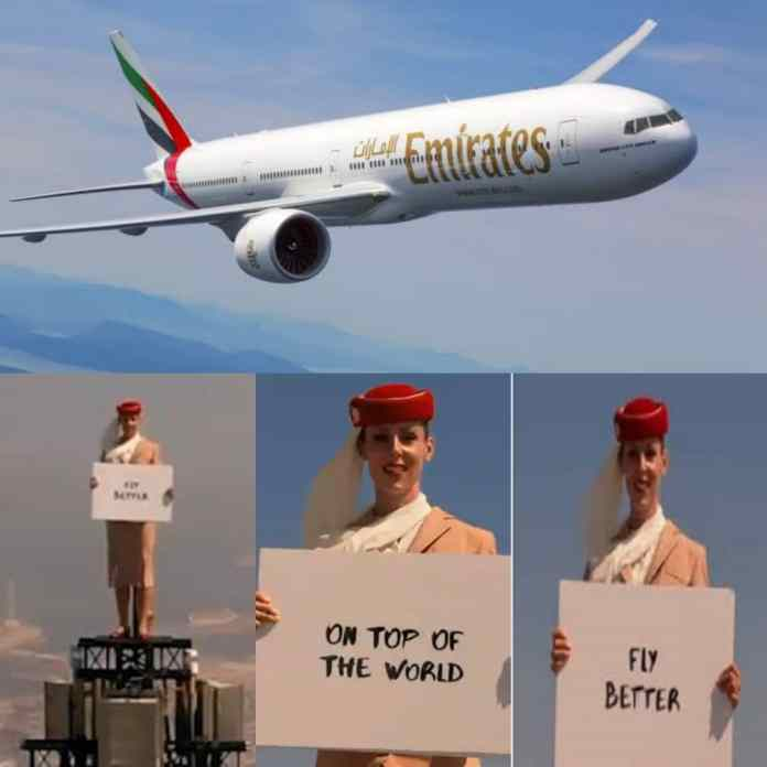 JUST IN: Emirates Pushes Boundaries With Behind The Scene Video