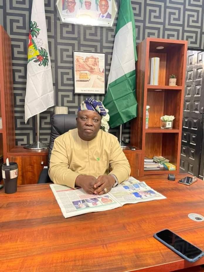 Lagos Island East Council Boss, Alade Folawiyo Speaks On Development Plans