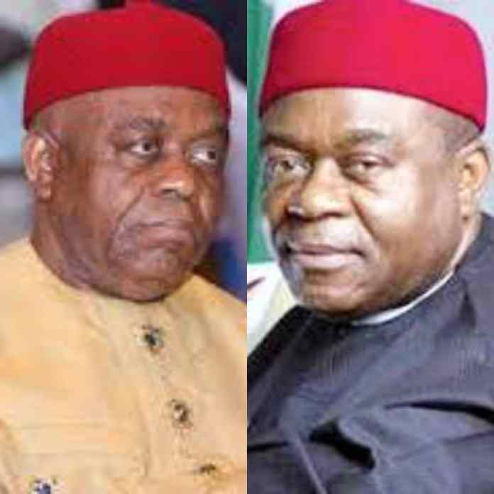 BREAKING: Ex- Governor, Theodore Orji Arrested By EFCC [DETAILS]