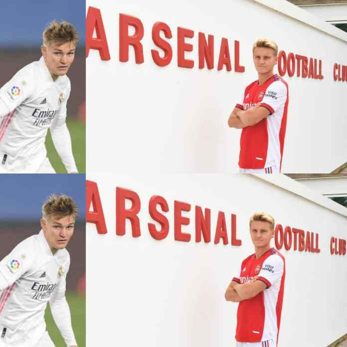 JUST IN: Real Madrid Martin Odegaard Joins Arsenal