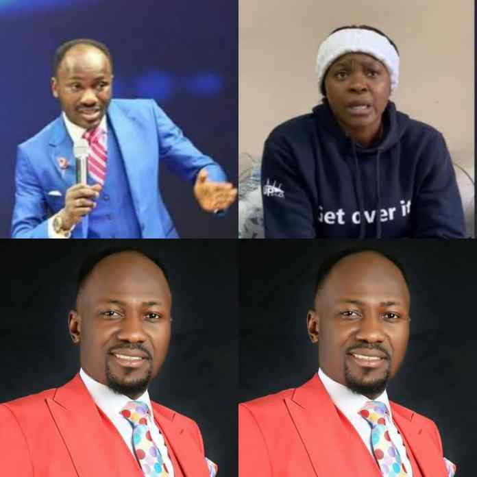 Finally, Apostle Suleman Breaks Silence Over Allegation Of Sleeping With Actress Chioma Ifemeludike