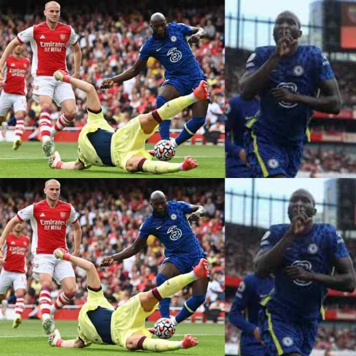 Watch As Romelu Lukaku Stings Arsenal Into Relegation Zone At Emirates Stadium [VIDEO]