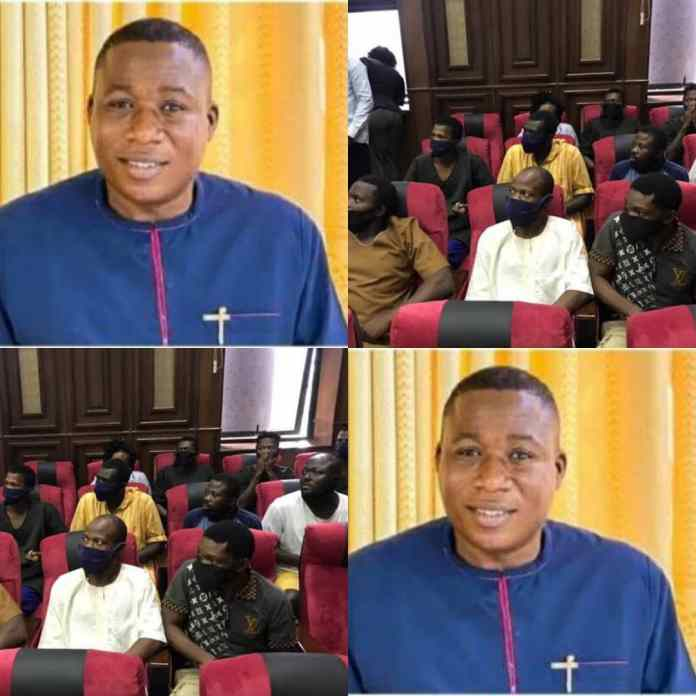 BREAKING: Detained Associates of Sunday Igboho Finally Regain Freedom