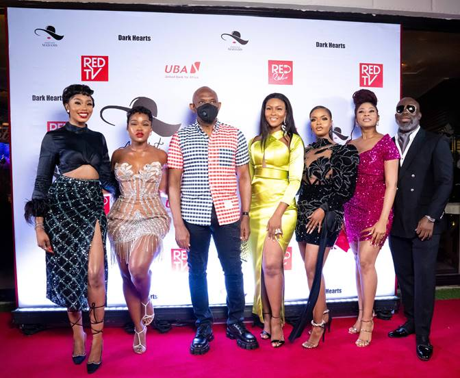 REDTV's Web Series, New Cast For Assistant Madams Season 2 Premieres Unveiled At Launch In Lagos