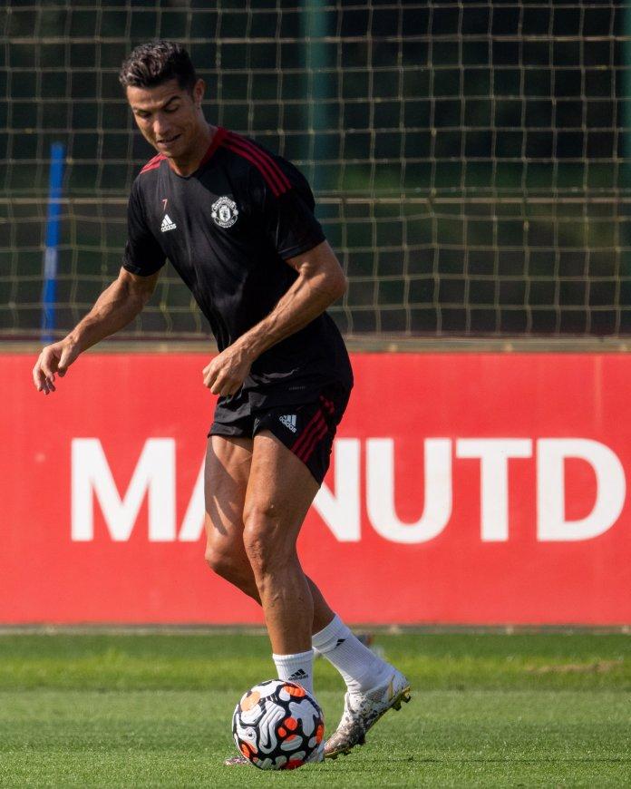 #MunNew: Ronaldo In Training Ahead Of Man United Vs Newcastle Tie [PHOTOS]
