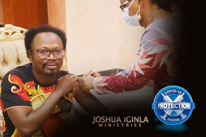As Promised, Prophet Joshua Iginla Receives Covid-19 Vaccine [PHOTO]