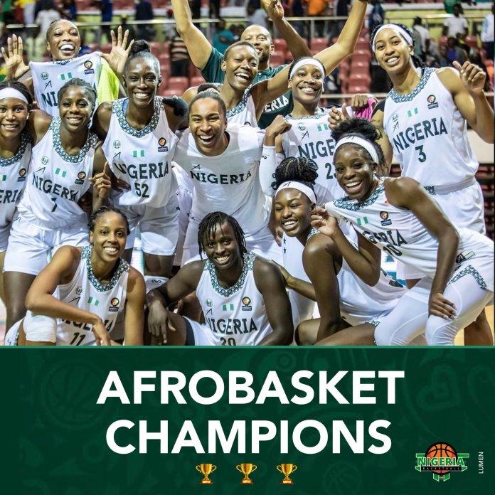 Nigeria's D'Tigress Wins 3rd Straight Women's AfroBasket