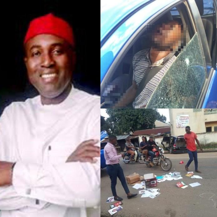 ANAMBRA ASSASSINATIONS: Killing Of Chris Azubogu Driver Captured On Viral Video [VIEWERS DISCRETION]